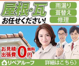 屋根の修理塗装【リペアルーフ