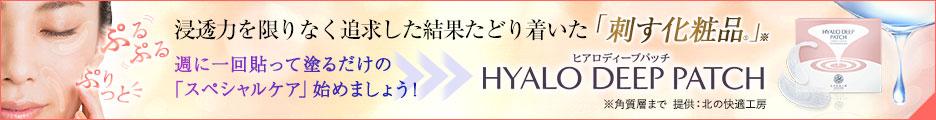 ヒアロディープパッチ 公式サイトへ(ID: 009)