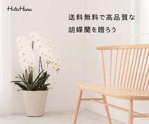 ギフトにぴったりな胡蝶蘭、観葉植物、花束、スタンド花の通販サイト【HitoHana】(胡蝶蘭)